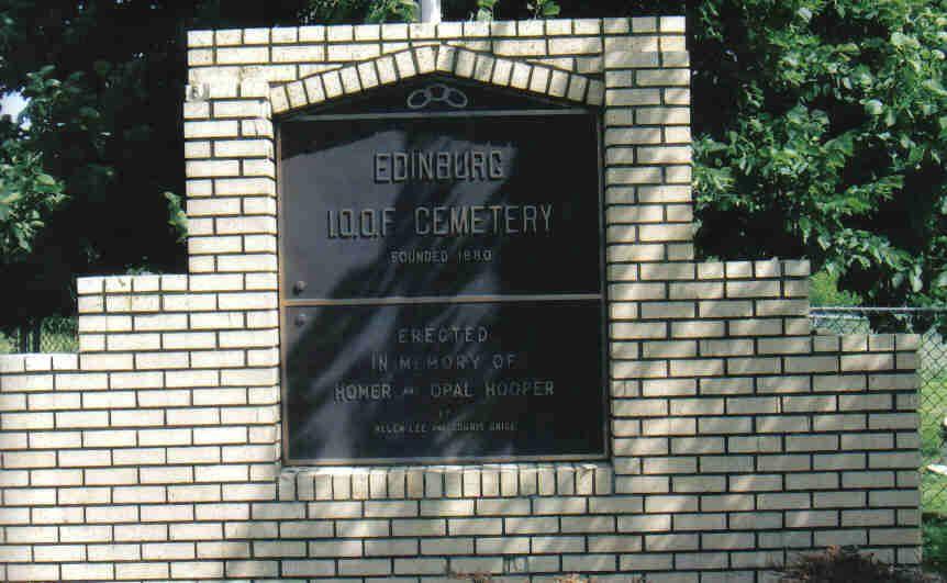 Edinburg Cemetery A-F